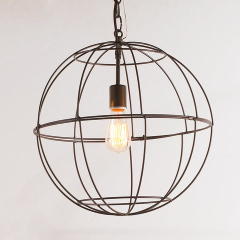 Young House Love Small Wire Globe Lantern - F100-403