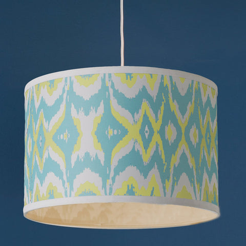 Young House Love Triple Tone Ikat Shade Pendant 16 - F100-574