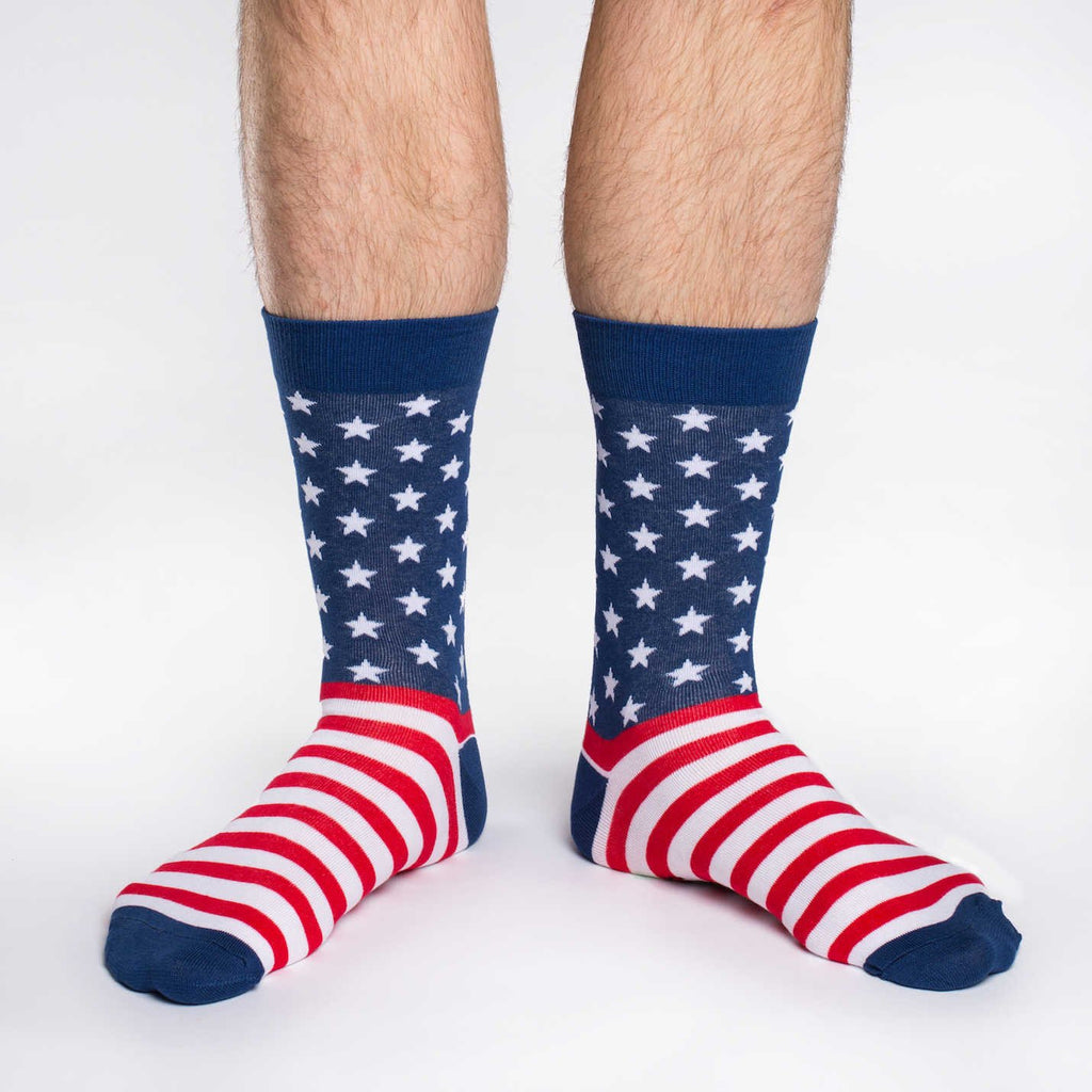 Men's American Flag Socks