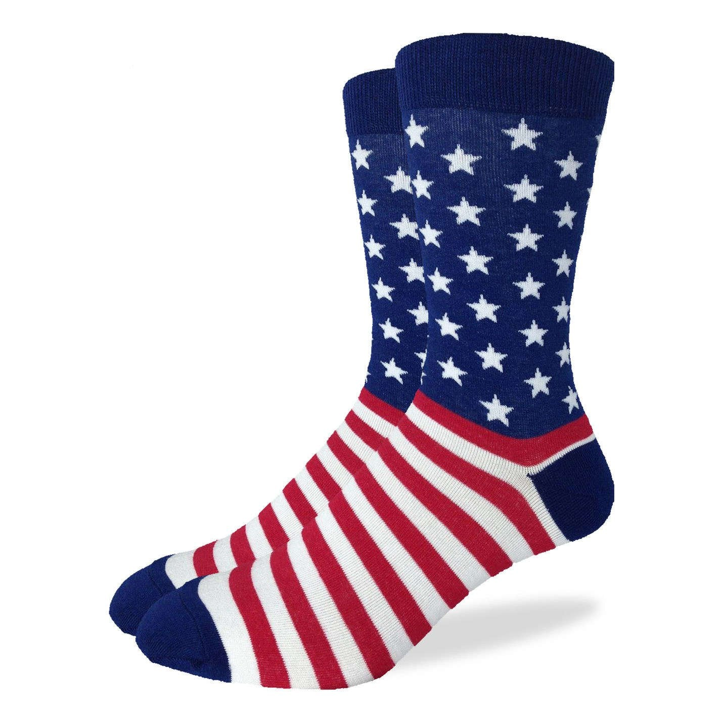 Men's American Flag Socks - Good Luck Sock