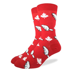 Men's Canada Beaver Socks - Good Luck Sock