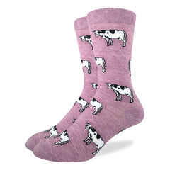 Men's Cows Socks - Good Luck Sock