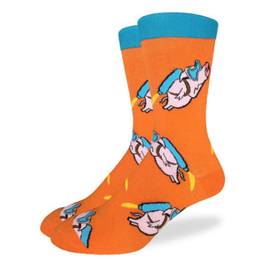 Men's Rocket Pigs Socks
