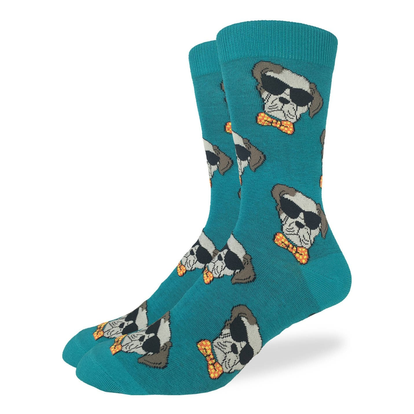 Men's Dapper Dog Socks - Good Luck Sock