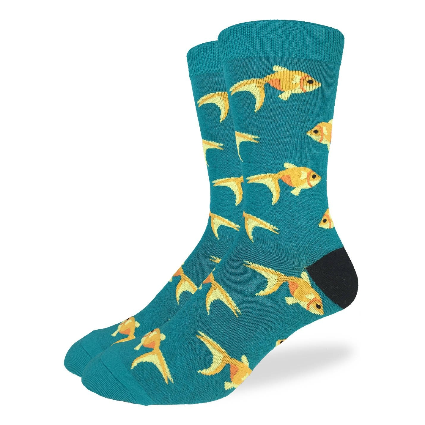 Men's Goldfish Socks - Good Luck Sock