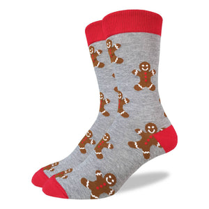 Men's Gingerbread Men Socks