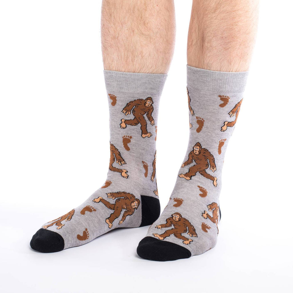 Men's King Size Bigfoot Socks