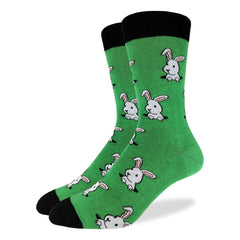 Men's Bunny Rabbit Socks - Good Luck Sock