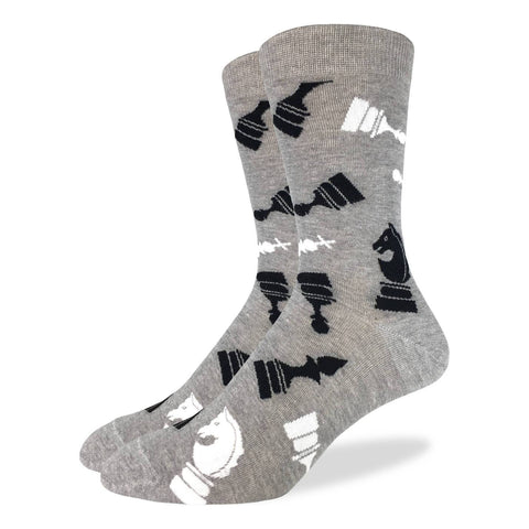 Men's King Size Flying Books Socks