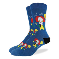 Men's Clown Socks - Good Luck Sock