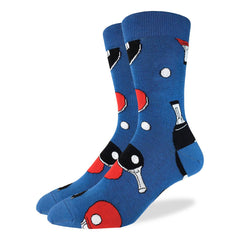 Men's Ping Pong Socks - Good Luck Sock