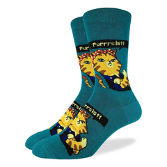 Men's Purrsist Cat Socks - Good Luck Sock