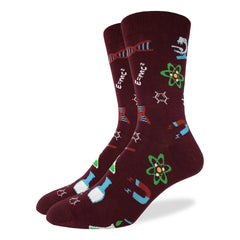 Men's Science Lab Socks - Good Luck Sock