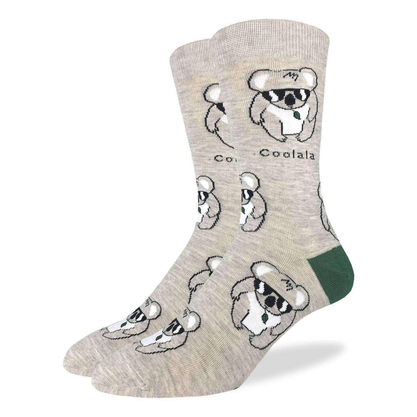 Men's Coolala Koala Socks - Good Luck Sock