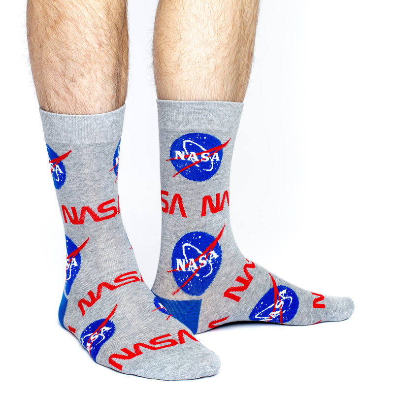 Men's King Size Nasa Socks