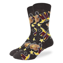 Men's Cowboys Socks - Good Luck Sock