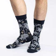 Men's Manatee Socks - Good Luck Sock