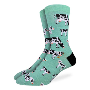 Men's Cows in a Field Socks