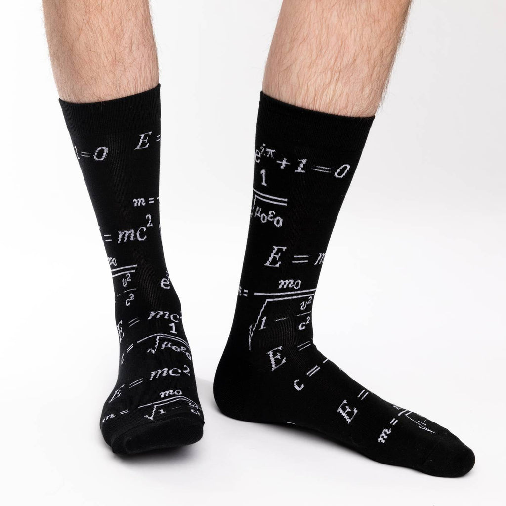 Men's King Size Math Equations Socks