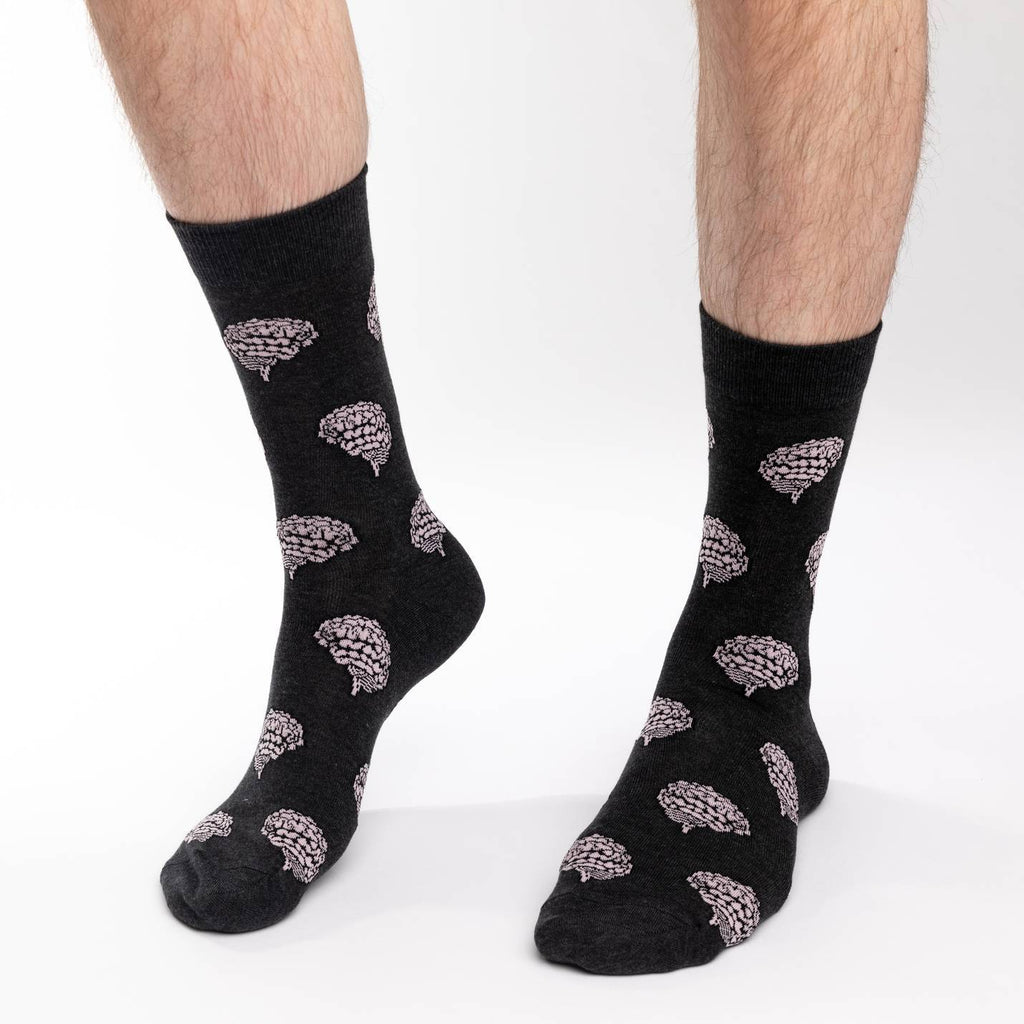 Men's Brains Socks