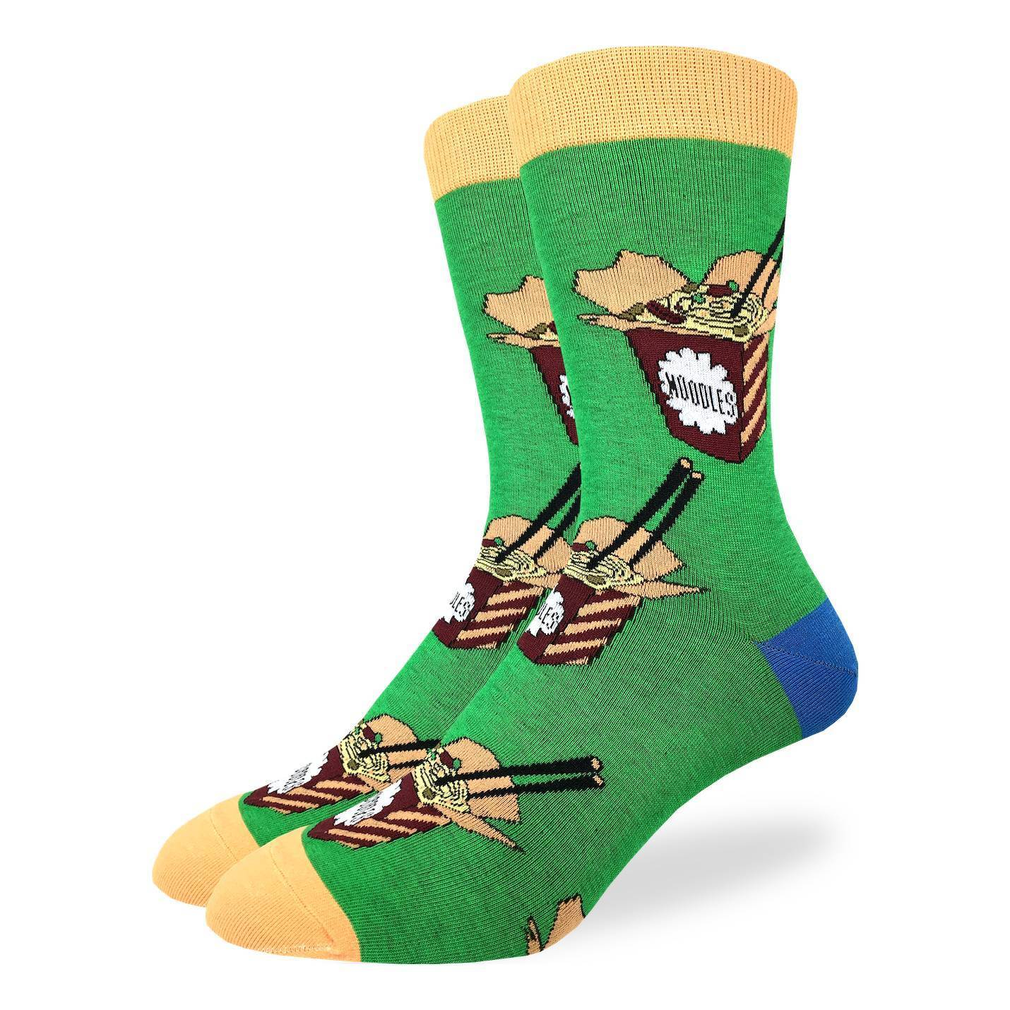 Men's King Size Noodles Socks - Good Luck Sock