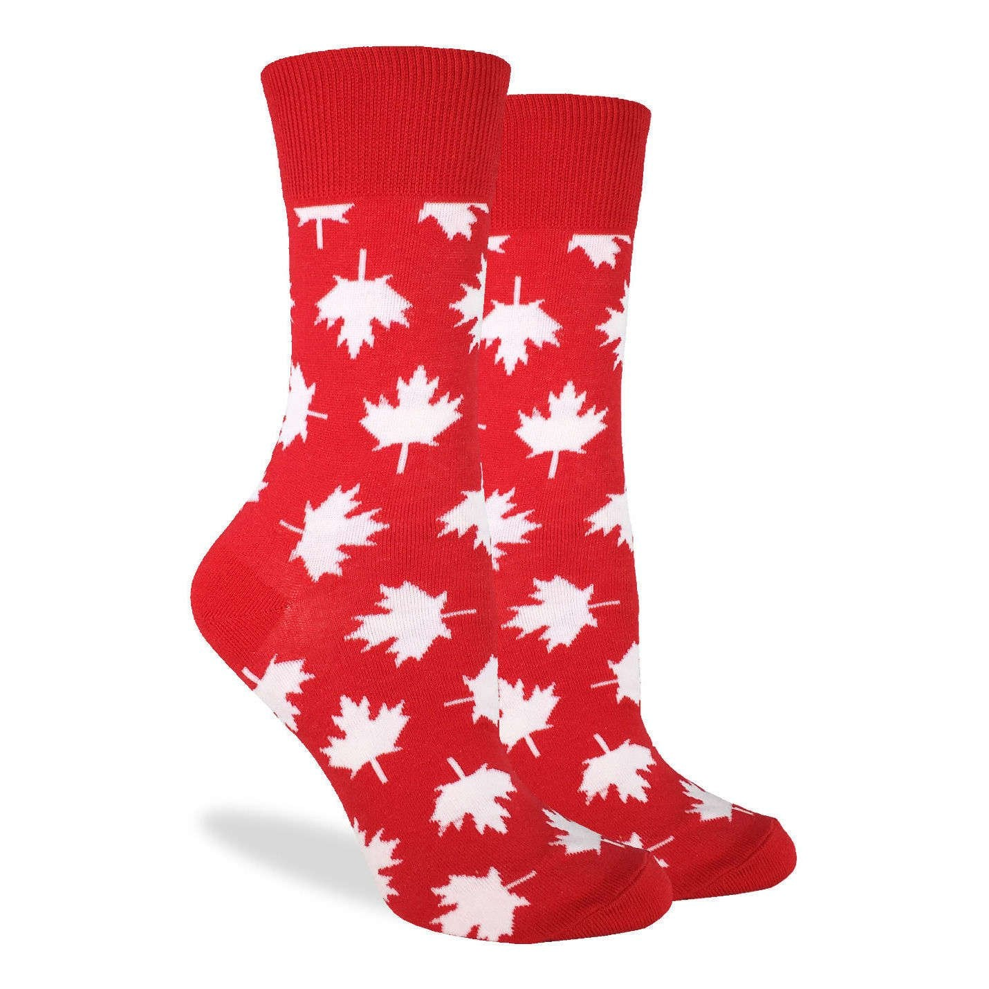 Women's Canada Maple Leaf Socks - Good Luck Sock