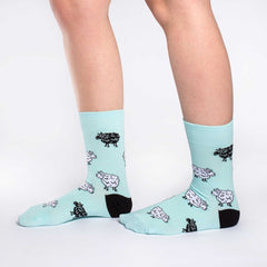 Women's Sheep Socks - Good Luck Sock