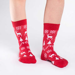 Women's Christmas Holiday Socks - Good Luck Sock