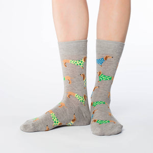 Women's Wiener Dog Socks