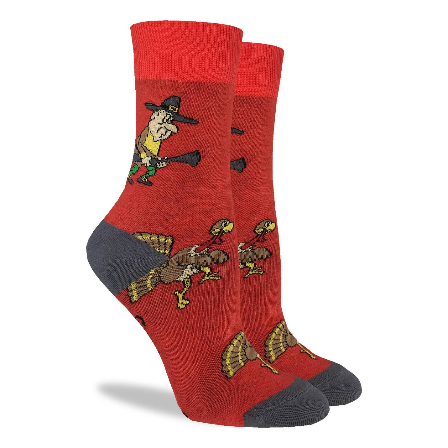 Women's Turkey Hunt Socks - Good Luck Sock