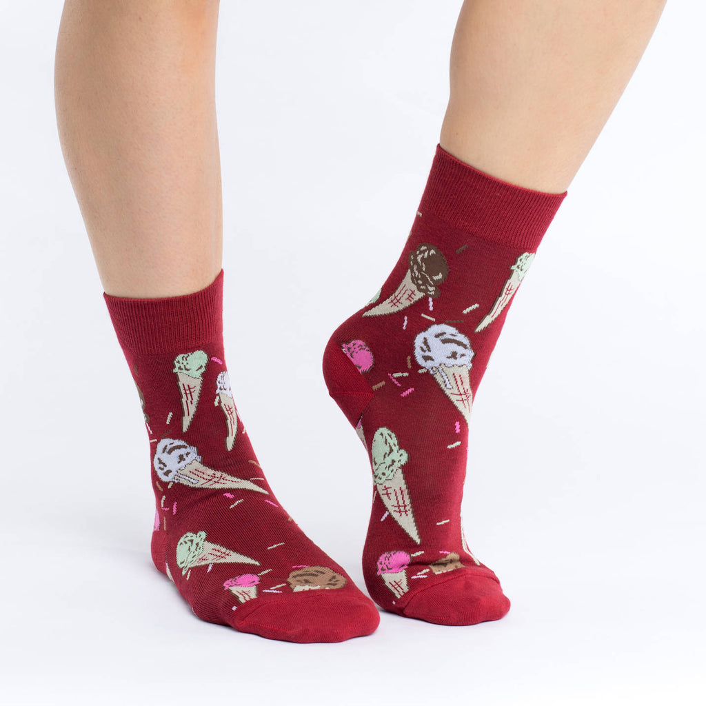 Women's Ice Cream Cones Socks