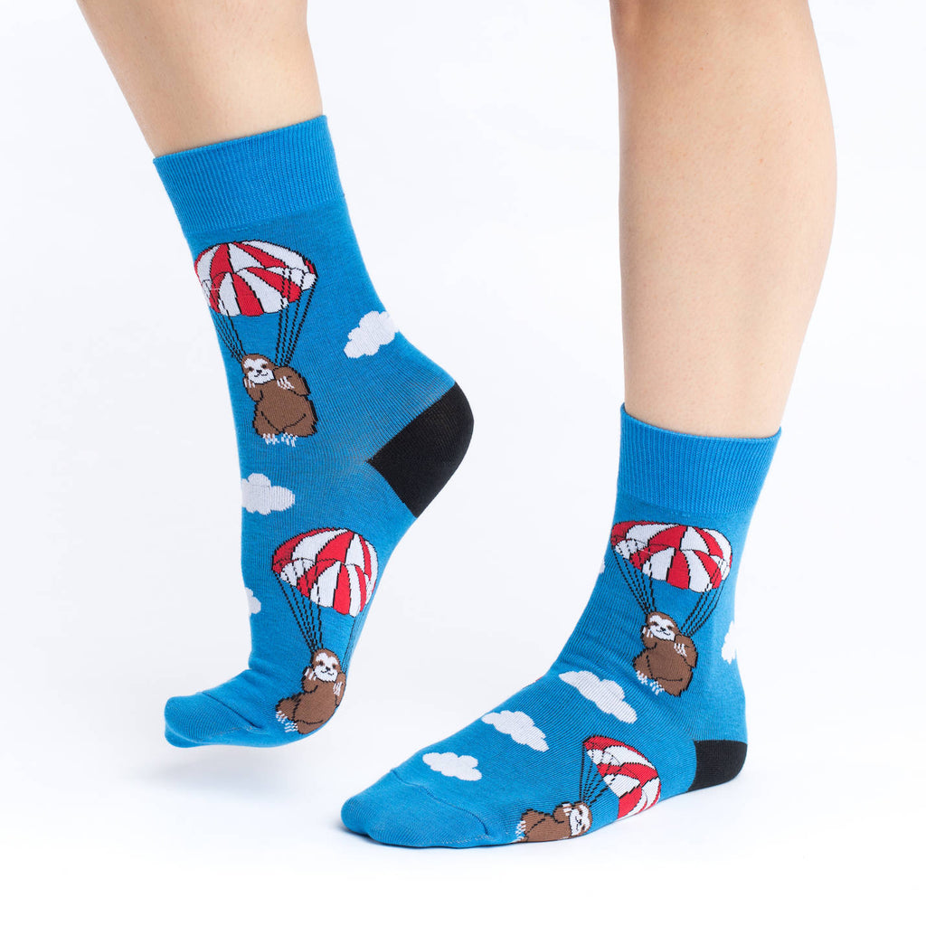 Women's Parachuting Sloths Socks