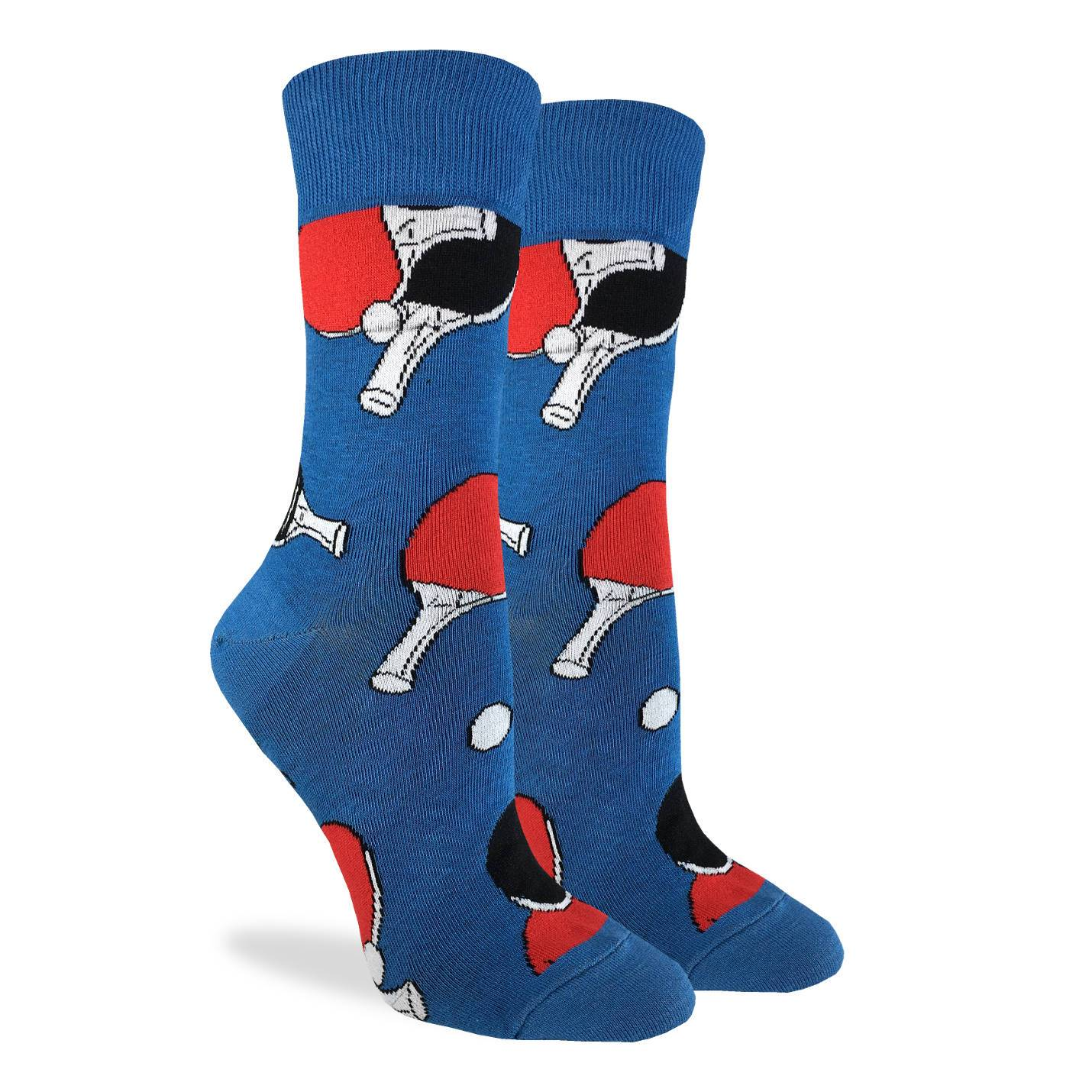 Women's Ping Pong Socks - Good Luck Sock