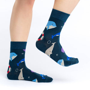 Women's Whales Socks