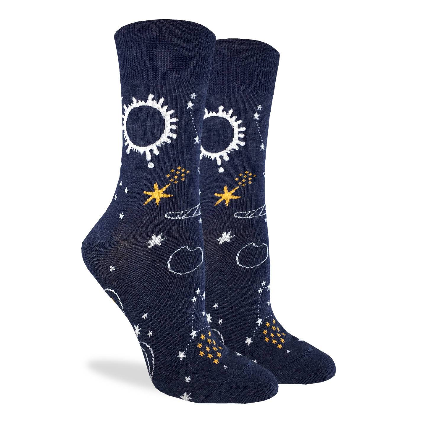 Women's Starry Night Socks - Good Luck Sock