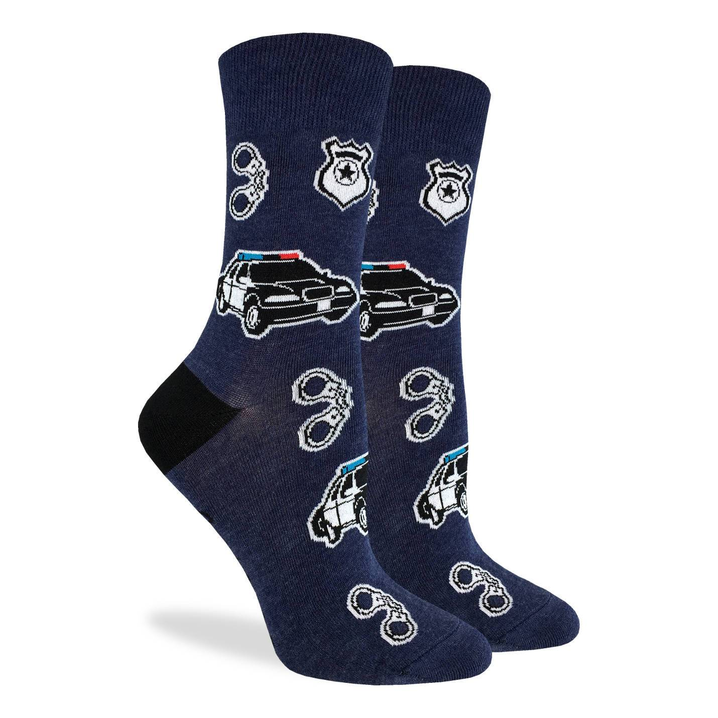 Women's Police Socks - Good Luck Sock