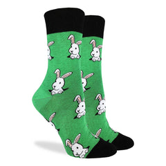 Women's Bunny Rabbit Socks - Good Luck Sock