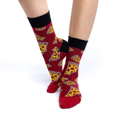 Women's Pizza Socks - Good Luck Sock