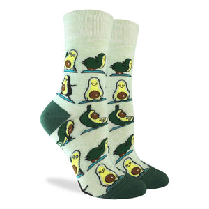 Women's Avocado Yoga Socks