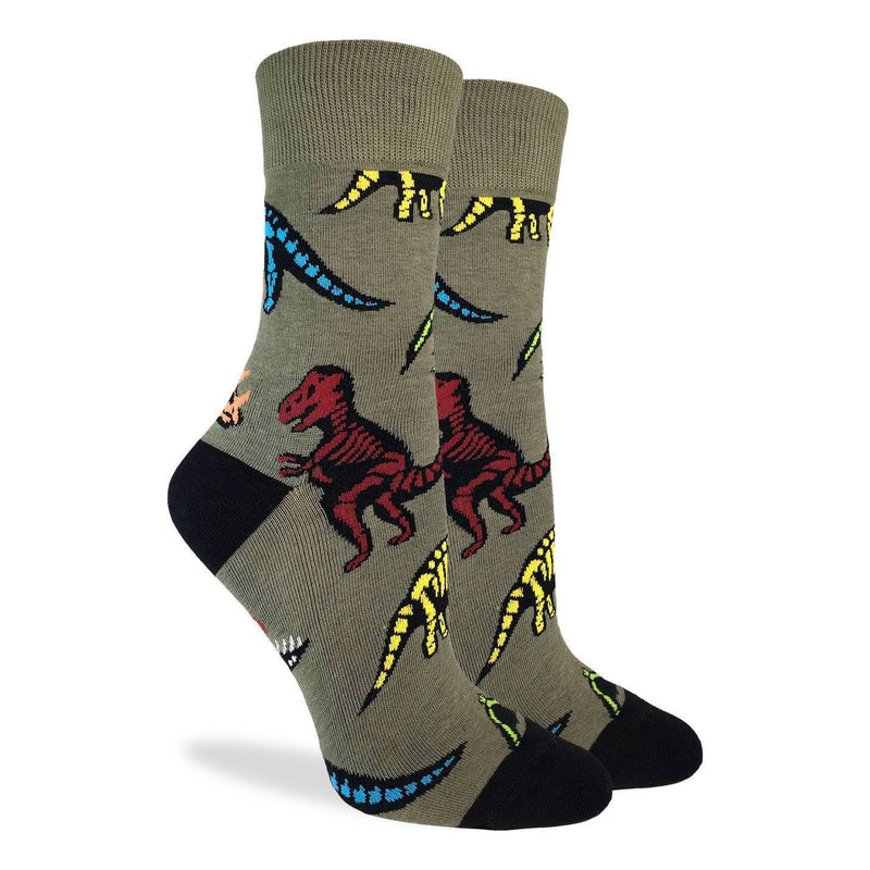 Women's Dinosaur Skeletons Socks