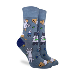 Women's Science Cats Socks