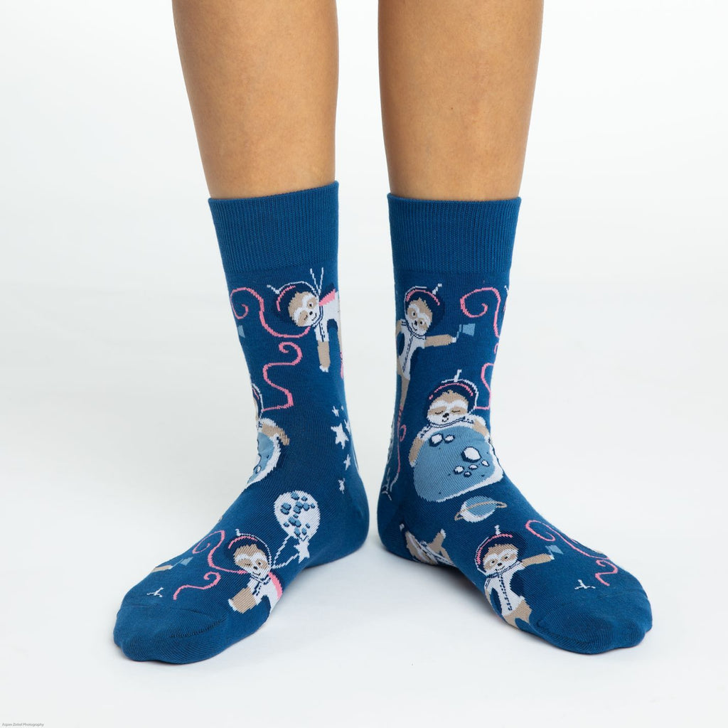 Women's Space Sloth Socks