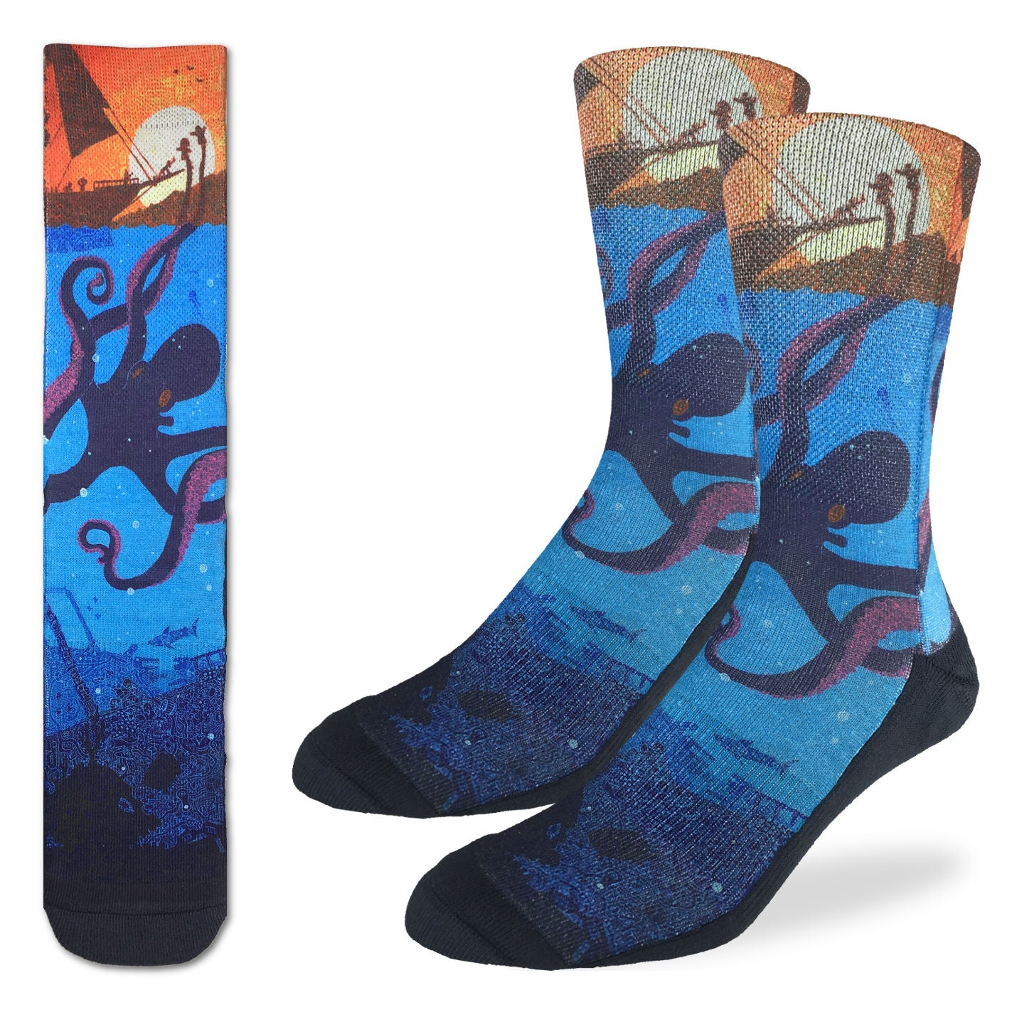 Men's Octopus Socks - Good Luck Sock