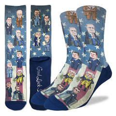 Men's Past Presidents of United States Socks - Good Luck Sock