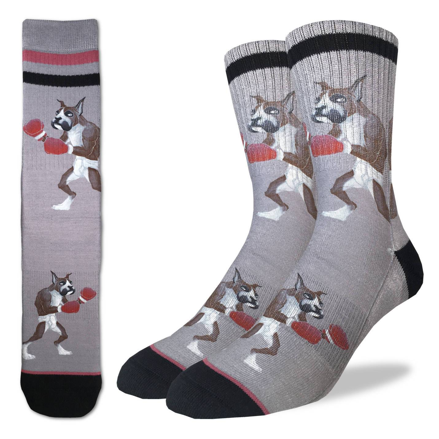 Men's Boxing Boxer Socks - Good Luck Sock