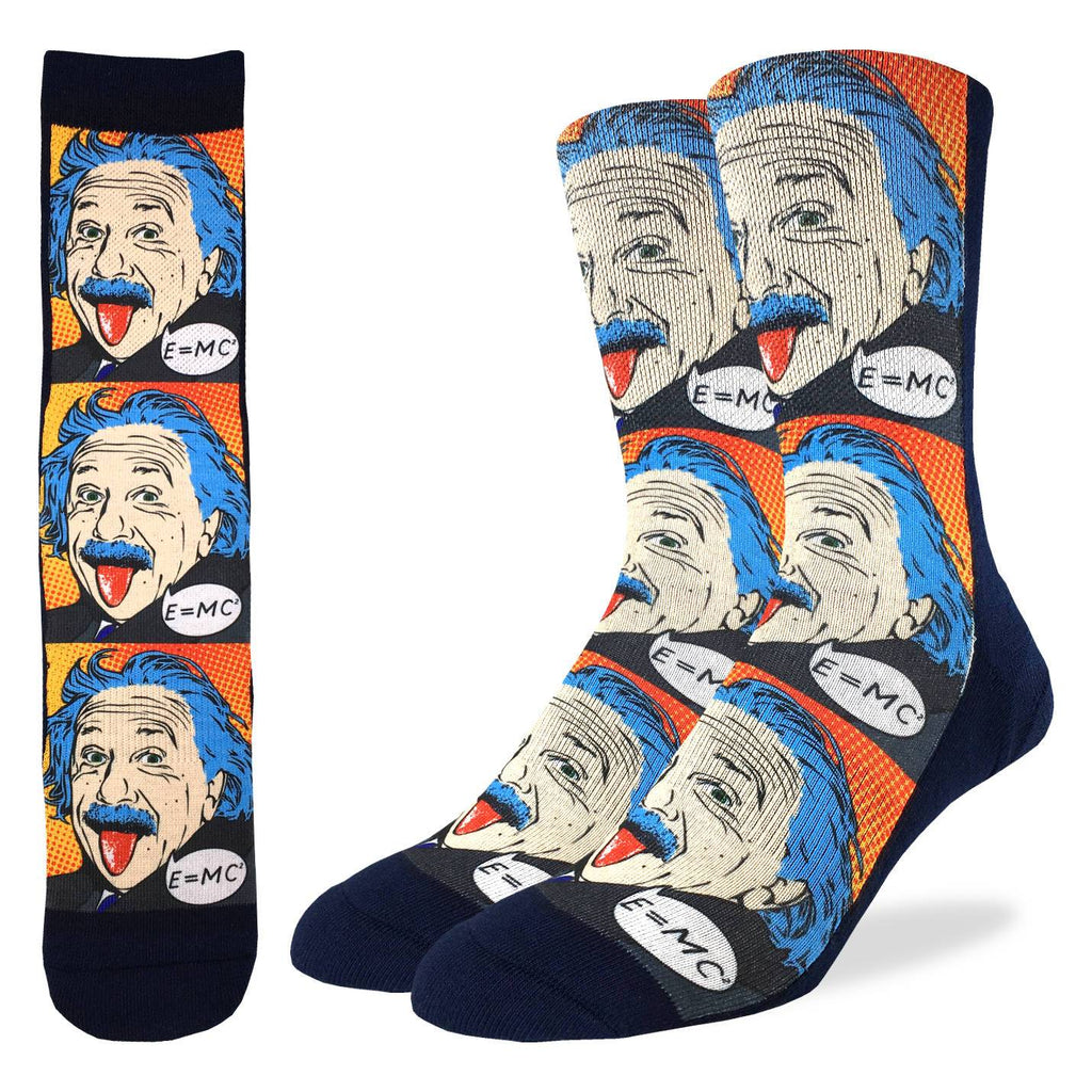 Men's Einstein Pop Art Socks