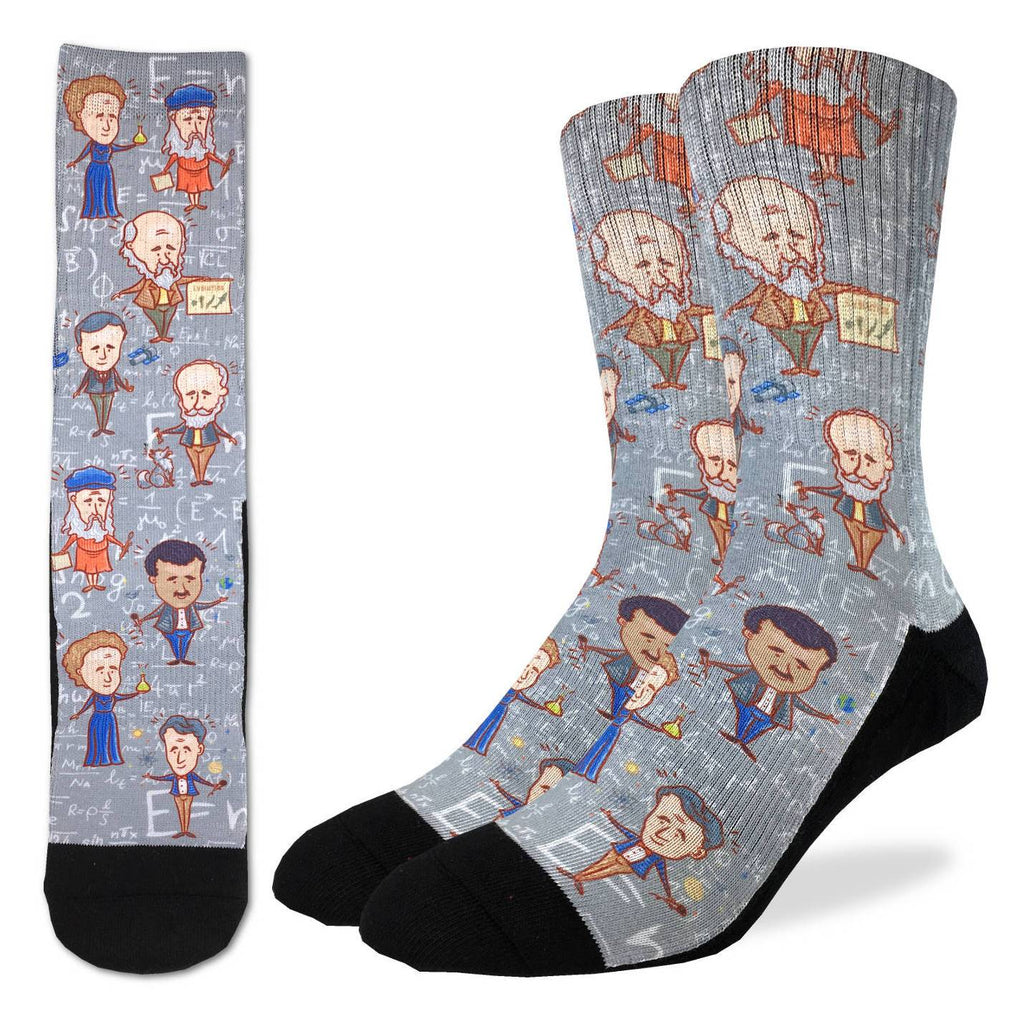 Men's Famous Scientist Socks