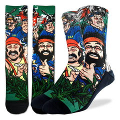 Men's Cheech & Chong DEA Socks - Good Luck Sock