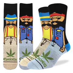 Men's Cheech & Chong Socks - Good Luck Sock