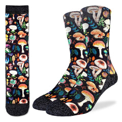 Men's Mushrooms Socks - Good Luck Sock